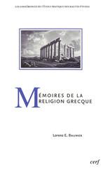 Mémoires de la religion grecque