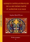 Lexique castillan/français de la Deuxième partie d'AlphonseX le Sage