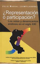 ¿Representación o participación?