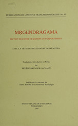 Mṛgendrāgama. Section des rites et section du comportement