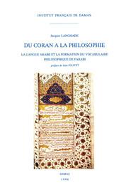 Chapitre I. La langue du coran et du Ḥadīṯ