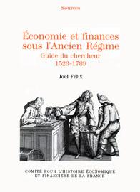 economie ancien regime