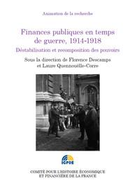 Finances publiques en temps de guerre, 1914-1918
