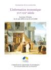L'information économique, XVIe-XIXesiècle