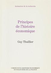 Principes de l'histoire économique