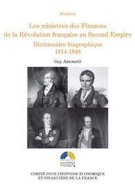 Chronologie des ministres des finances 1790-1870