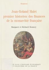Jean-Roland Malet premier historien des finances de la monarchie française