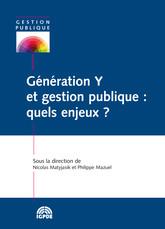 Génération Y et gestion publique: quels enjeux?