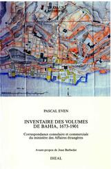 Inventaire des volumes de Bahia, 1673-1901