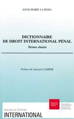 Dictionnaire de droit international pénal
