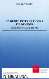 Le droit international en devenir