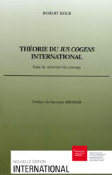Théorie du ius cogens international
