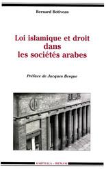 Loi islamique et droit dans les sociétés arabes