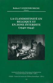 Les réseaux belges et leurs finances 1940-1944