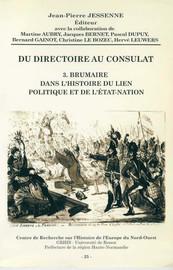 Pouvoir local, territoires et autorités les personnels politiques
