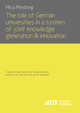 8. Empirical Results regarding the Knowledge Generation, Innovation and Collaboration Potential of the German Universities