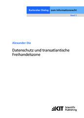 Datenschutz und transatlantische Freihandelszone