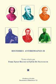 Histoires antiromaines II