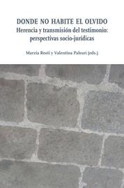 La desaparición nella narrazione letteraria e nella narrazione giudiziaria