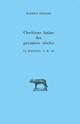 Chrétiens latins des premiers siècles