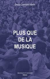 Plus que de la musique