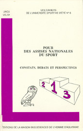 En vue des Assises Nationales du Sport