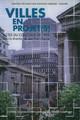 L'histoire en otage: la référence au passé dans la construction des politiques urbaines