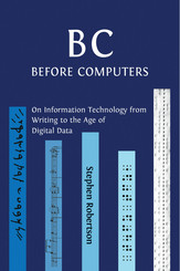 B C, Before Computers