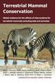 Terrestrial Mammal Conservation