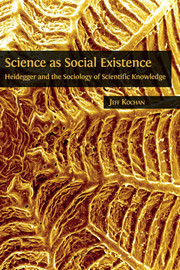 Chapter One. The Sociology of Scientific Knowledge, Phenomenology, and the Problem of the External World