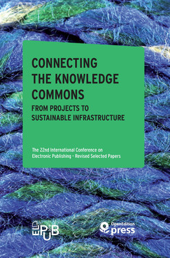 Connecting the Knowledge Commons — From Projects to Sustainable Infrastructure