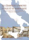 Les céramiques communes antiques d'Italie et de Narbonnaise