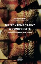 "Du ""contemporain"" à l'université"