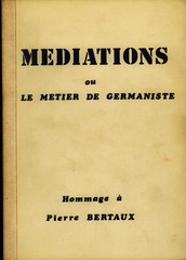 Médiations ou le métier de germaniste