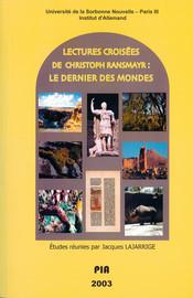 Dramaturgie der Untergangsvisionen in Christoph Ransmayrs Roman Die letzte Welt