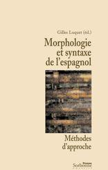 Morphologie et syntaxe de l'espagnol