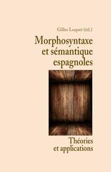Morphosyntaxe et sémantique espagnoles