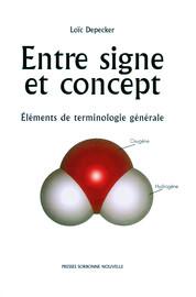 Entre signe et concept