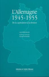 La population allemande entre 1945 et 1955: rupture et continuité