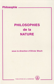 Philosophies de la nature