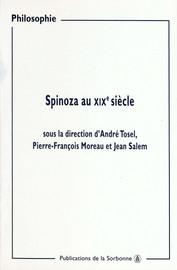 Spinoza et le dernier Fichte
