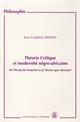 Chapitre II. La philosophie africaine: discours de maitrise