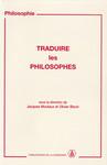 Traduire les philosophes