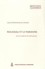 Rousseau et le marxisme