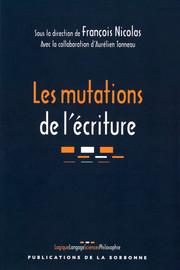 Les mutations de l'écriture