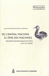 De l'animal-machine à l'âme des machines