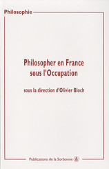 Philosopher en France sous l'Occupation