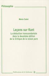 Leçons sur Kant