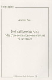 Droit et éthique chez Kant