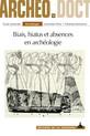 Biais, hiatus et absences en archéologie